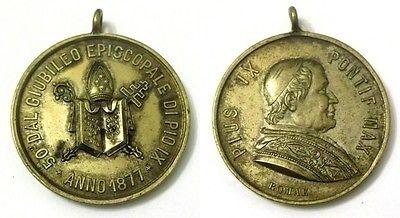 Medaglia-Pius-IX-Potif-Max-50°-Dal-Giubileo