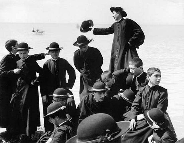 Seminaristi barca